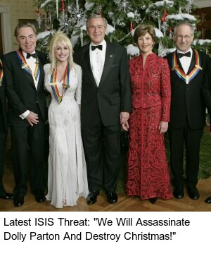 Terrorists threaten American Christian families.