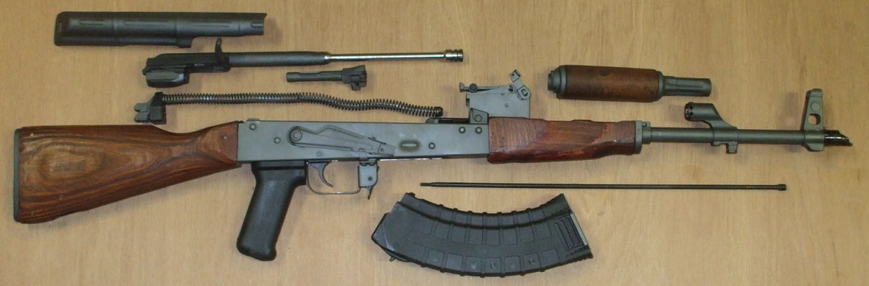 Field Stripping the AK-47 Rifle
