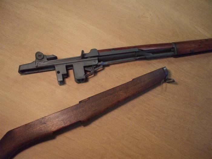 Field Stripping the M1 Garand Rifle