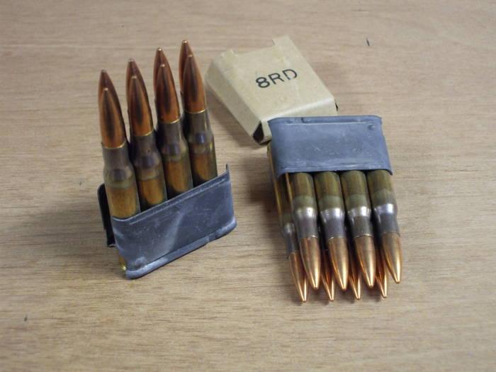 Ammunition for the M1 Garand