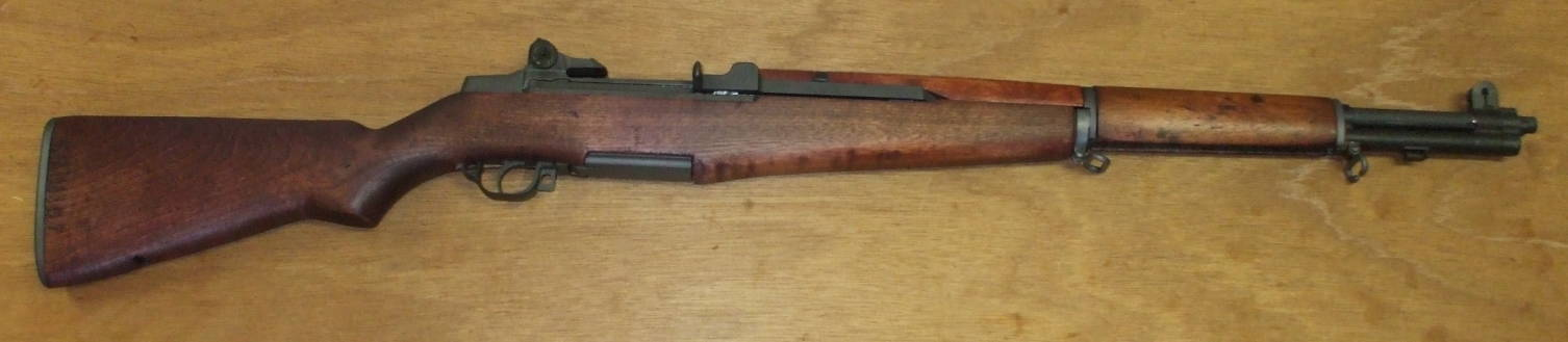 M1 Garand rifle, built at Springfield Armory.