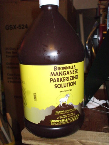 Large Jug Of Brownells Manganese Parkerizing Solution