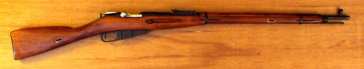 Mosin-Nagant rifle.